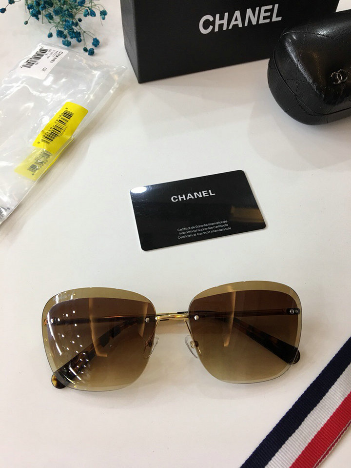 Chanel Newest Fashion sunglasses top quality CC0023