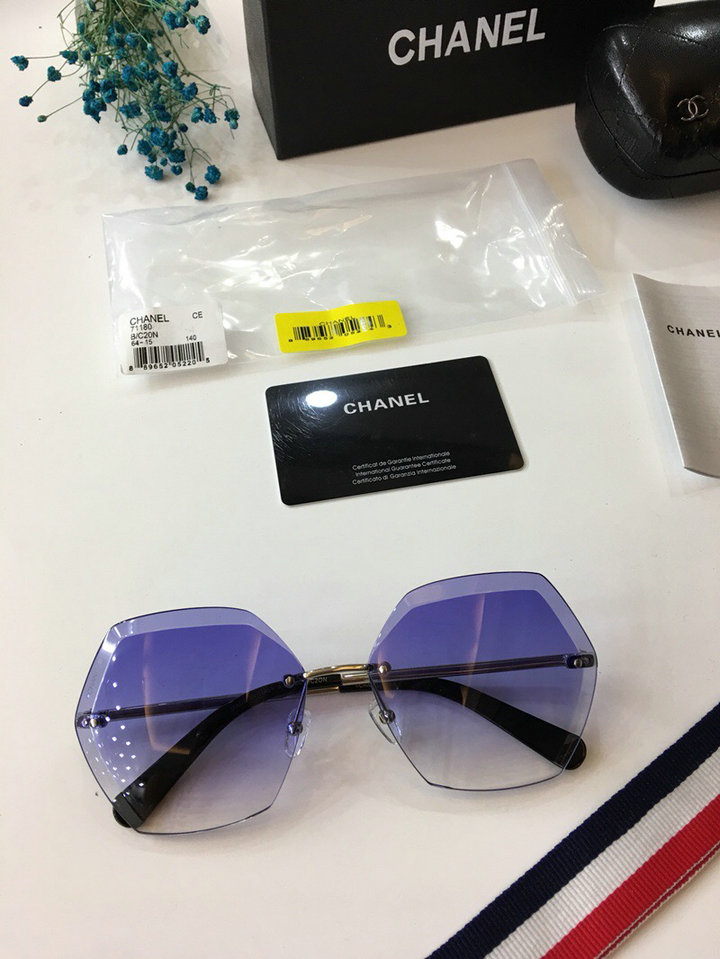 Chanel Newest Fashion sunglasses top quality CC0025