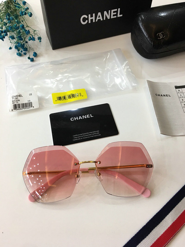 Chanel Newest Fashion sunglasses top quality CC0027