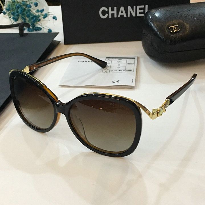 Chanel Newest Fashion sunglasses top quality CC0032