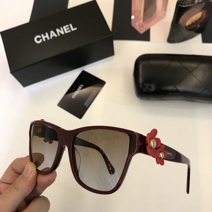Chanel Newest Fashion sunglasses top quality CC0055