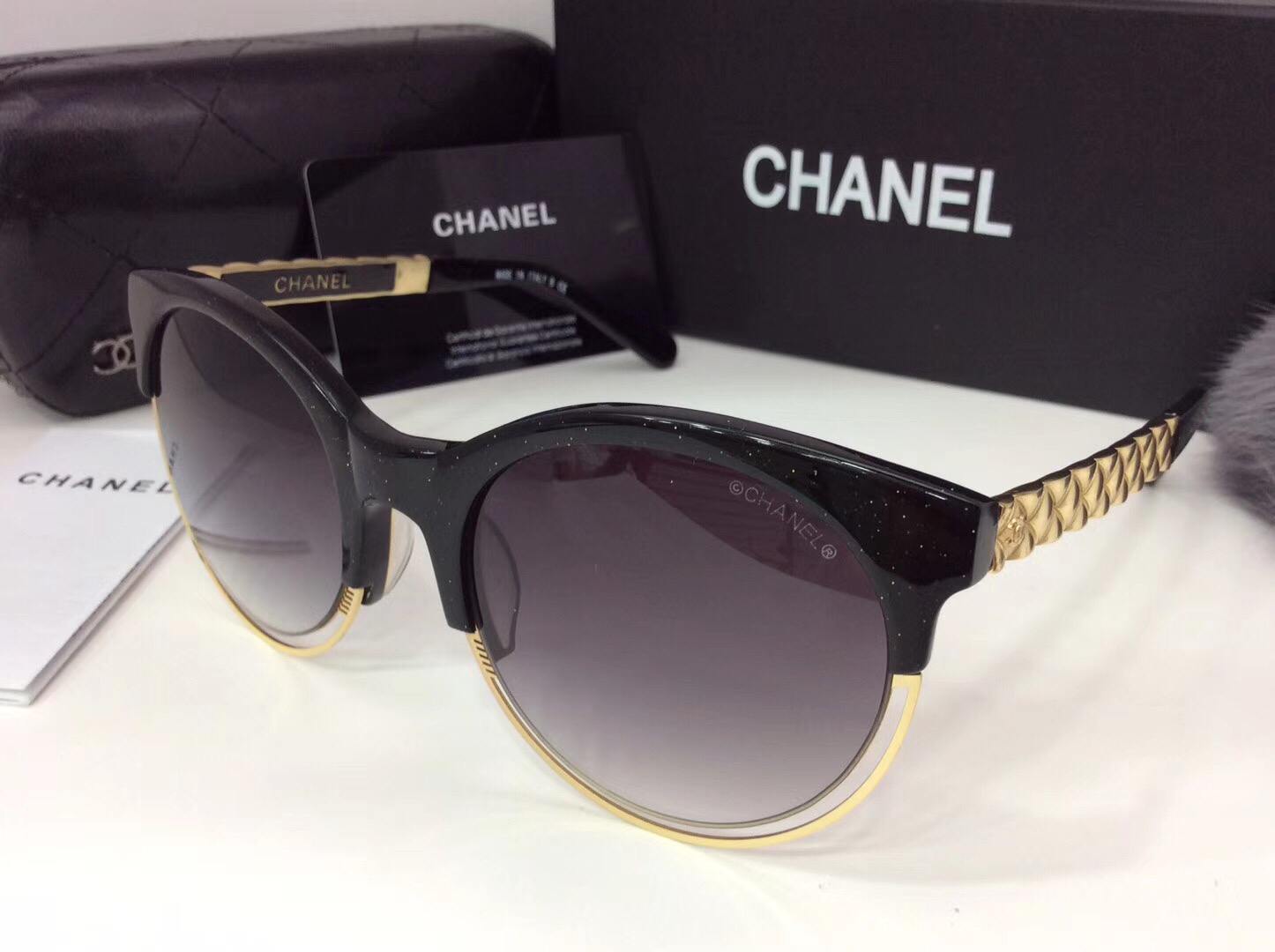 Chanel Newest Fashion sunglasses top quality CC0061