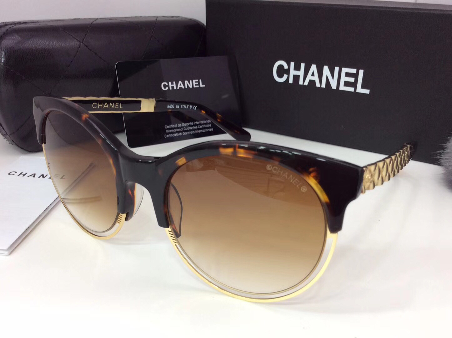 Chanel Newest Fashion sunglasses top quality CC0062