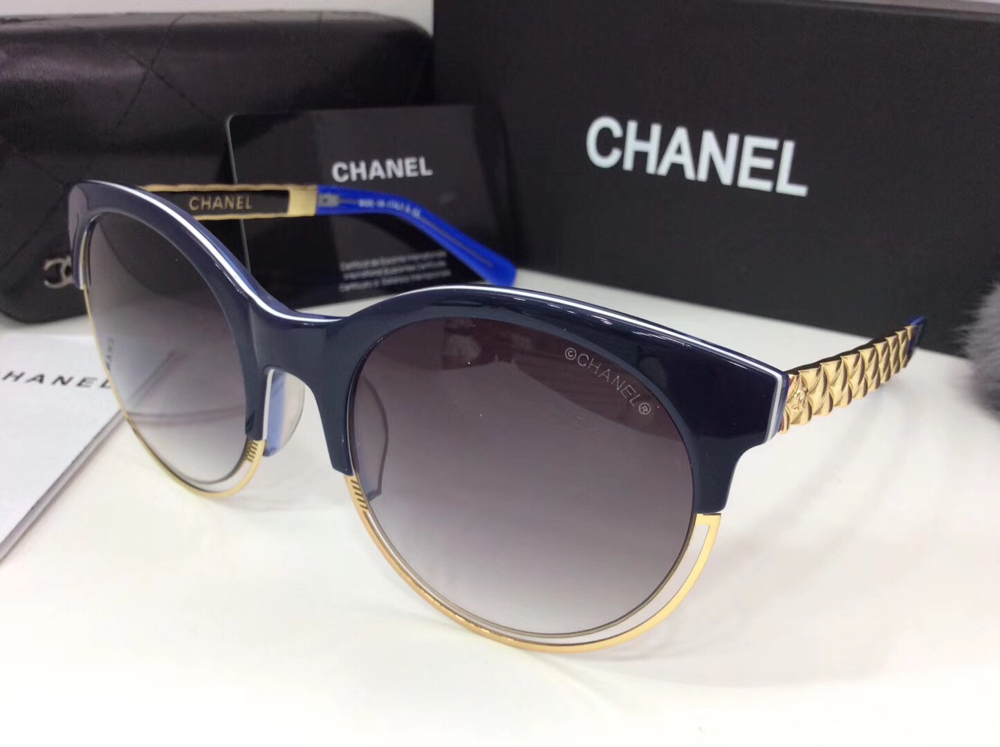 Chanel Newest Fashion sunglasses top quality CC0063