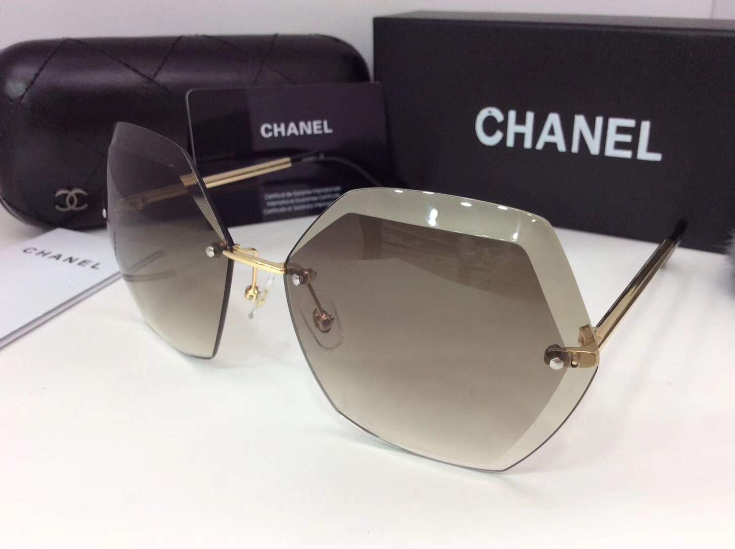 Chanel Newest Fashion sunglasses top quality CC0067