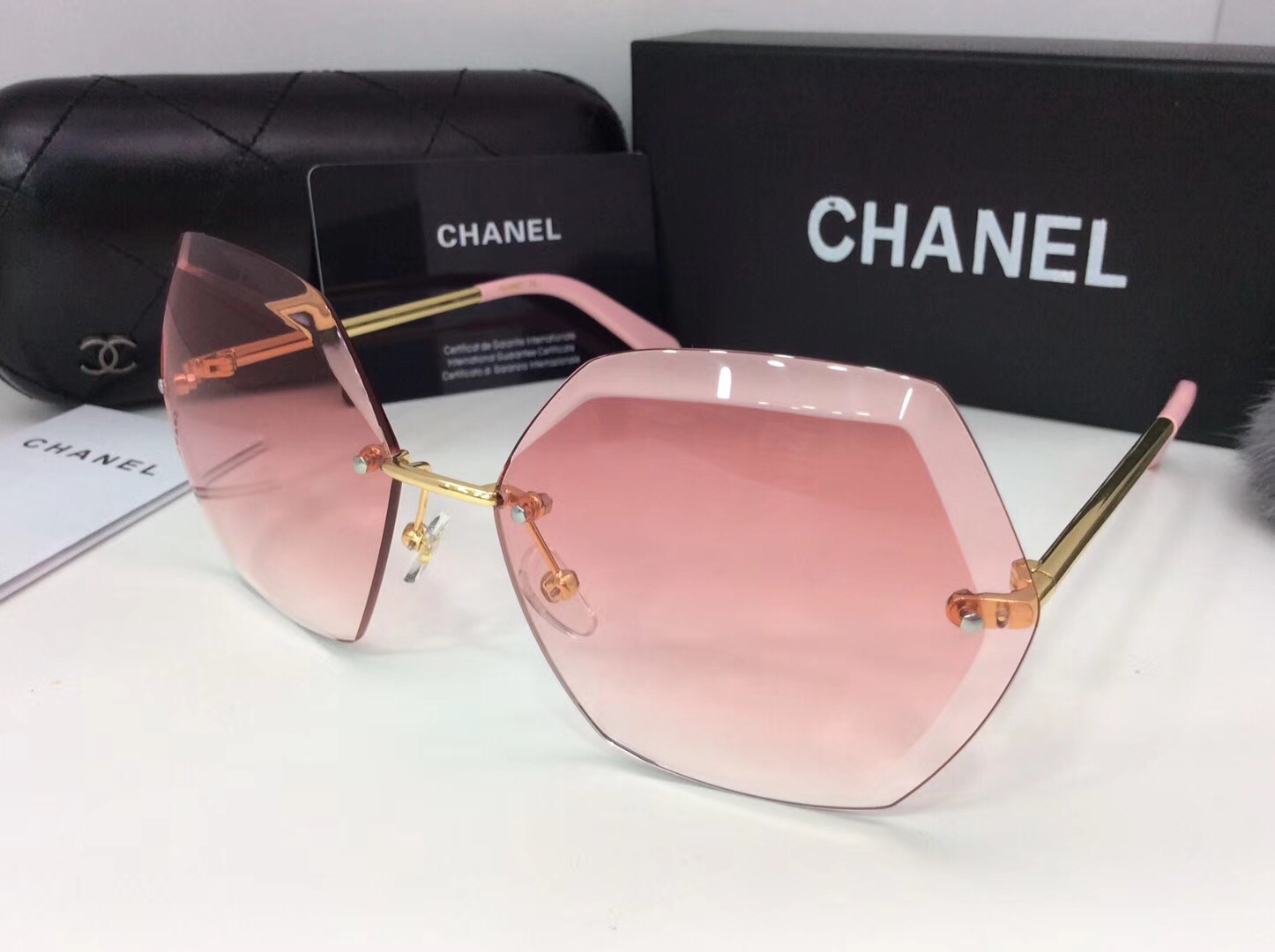 Chanel Newest Fashion sunglasses top quality CC0069