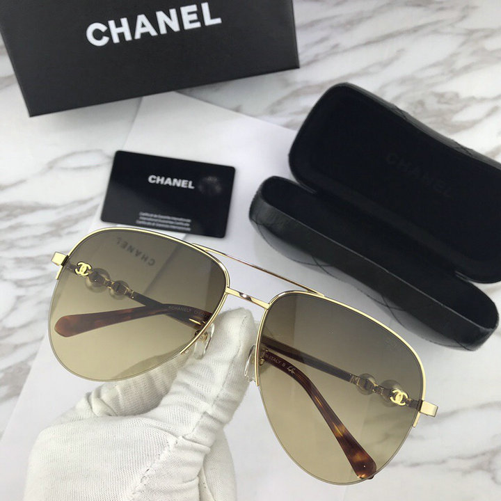 Chanel Newest Fashion sunglasses top quality CC0107
