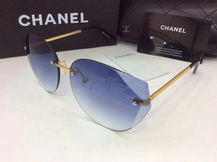 Chanel Newest Fashion sunglasses top quality CC0117