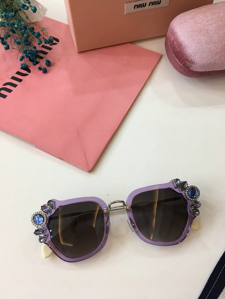 MiuMiu Newest Fashion Sunglasses Top Quality MM0024