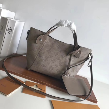 Louis Vuitton Mahina Leather HINA Bag M54353 grey
