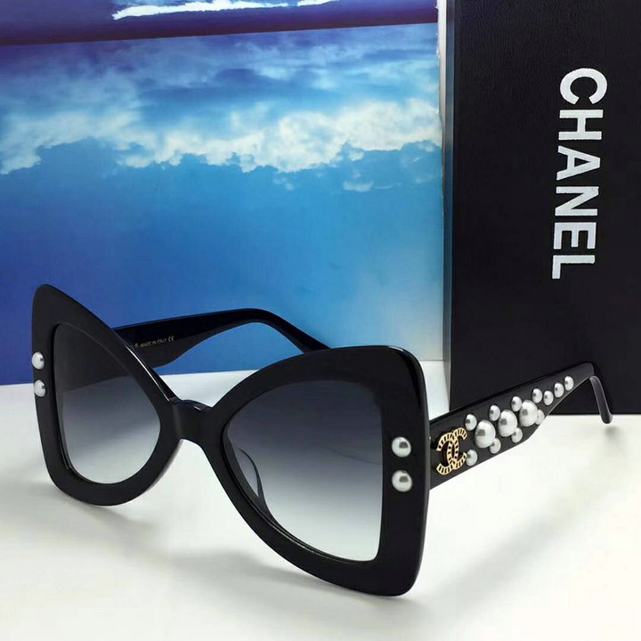Chanel Newest Fashion Sunglasses Top Quality CC0156