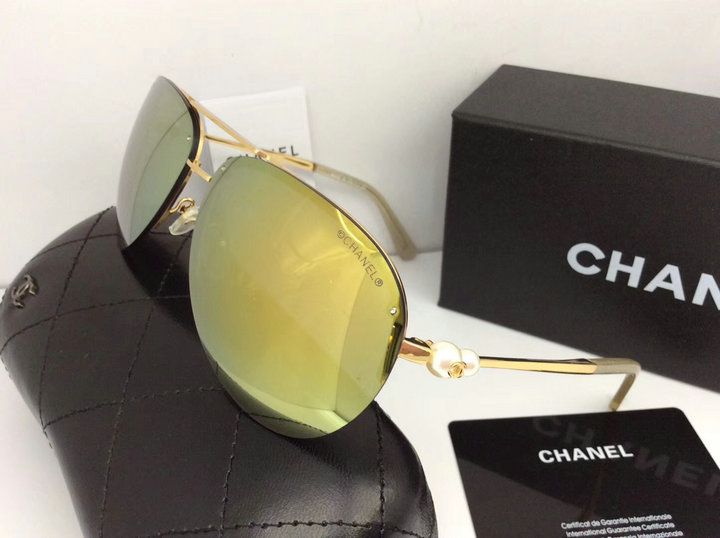 Chanel Newest Fashion Sunglasses Top Quality CC0155