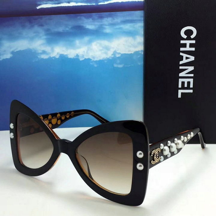 Chanel Newest Fashion Sunglasses Top Quality CC0157