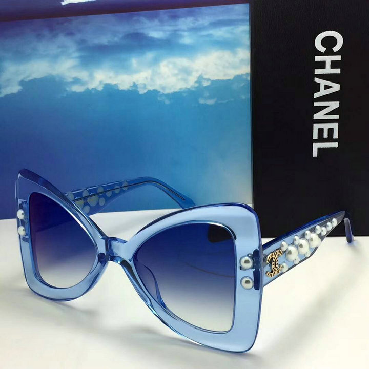 Chanel Newest Fashion Sunglasses Top Quality CC0159