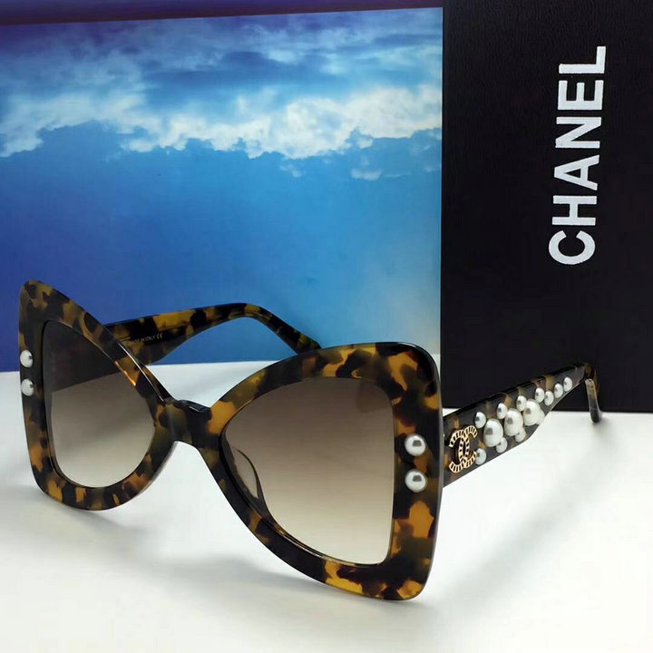 Chanel Newest Fashion Sunglasses Top Quality CC0160