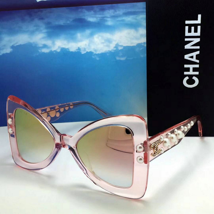 Chanel Newest Fashion Sunglasses Top Quality CC0161
