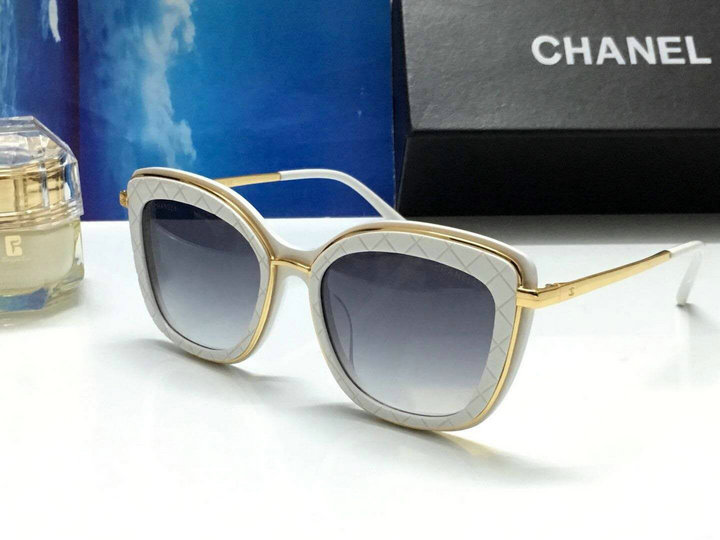 Chanel Newest Fashion Sunglasses Top Quality CC0162