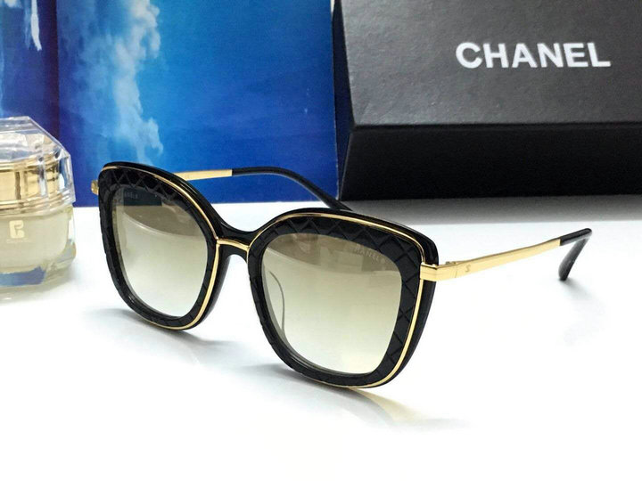 Chanel Newest Fashion Sunglasses Top Quality CC0163