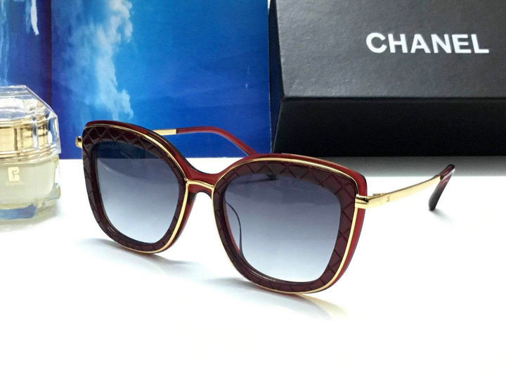 Chanel Newest Fashion Sunglasses Top Quality CC0164