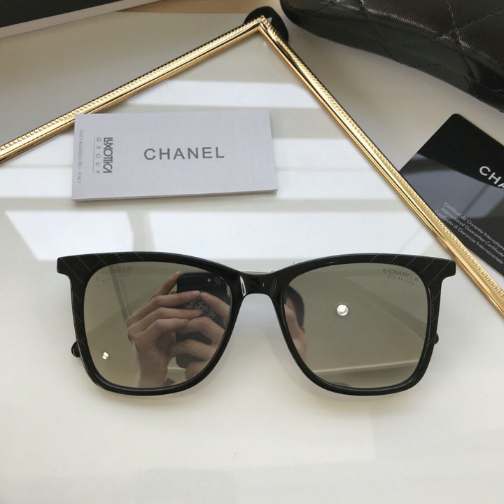 Chanel Newest Fashion Sunglasses Top Quality CC0173