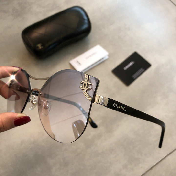 Chanel Newest Fashion Sunglasses Top Quality CC0174