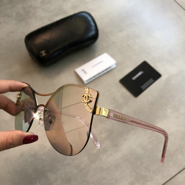 Chanel Newest Fashion Sunglasses Top Quality CC0175