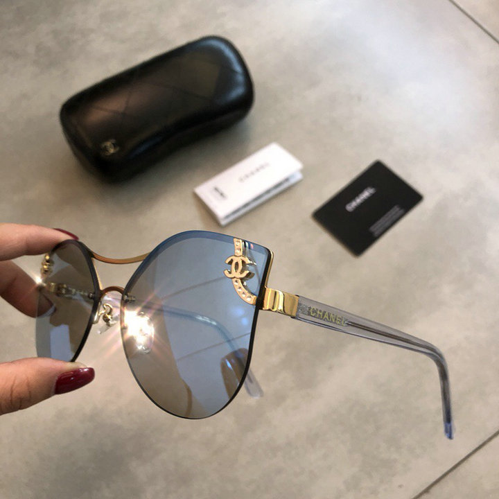 Chanel Newest Fashion Sunglasses Top Quality CC0176