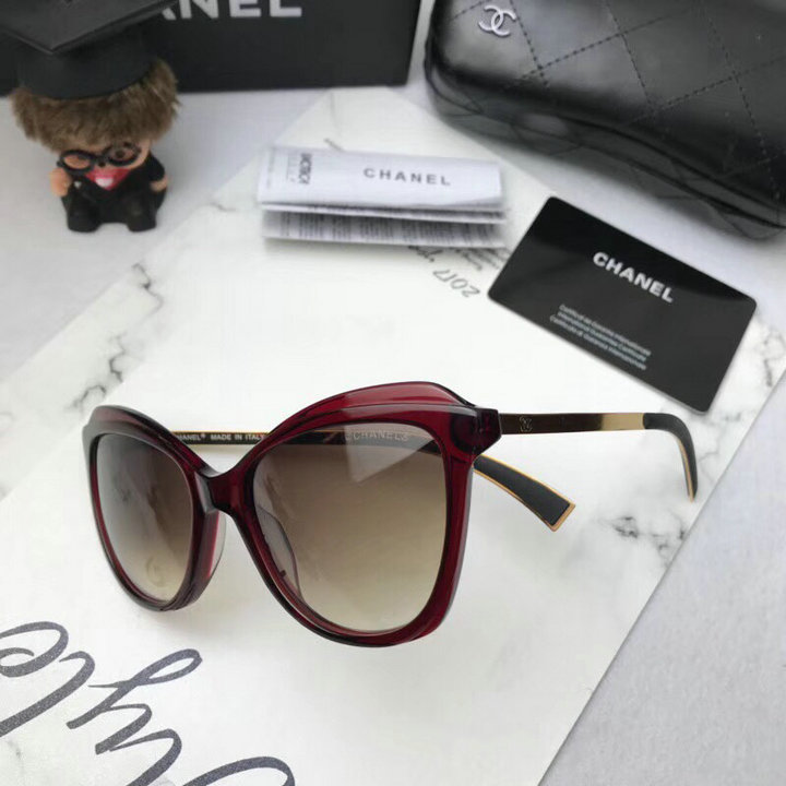 Chanel Newest Fashion Sunglasses Top Quality CC0179