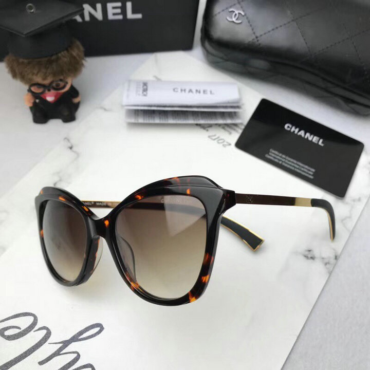 Chanel Newest Fashion Sunglasses Top Quality CC0180