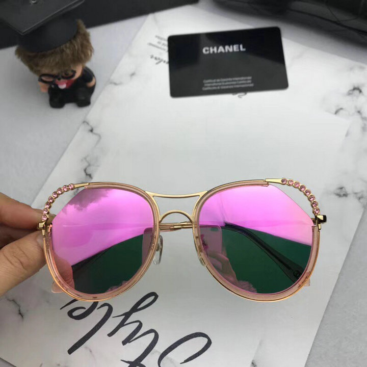 Chanel Newest Fashion Sunglasses Top Quality CC0181