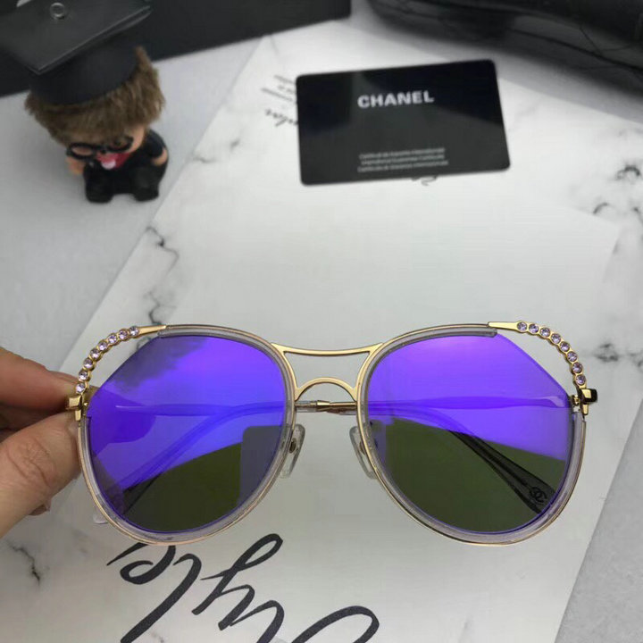 Chanel Newest Fashion Sunglasses Top Quality CC0183