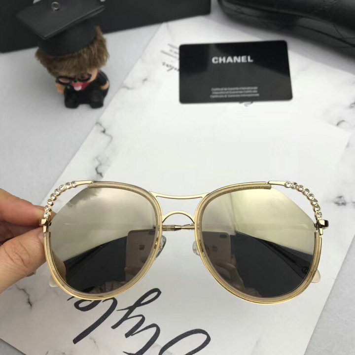 Chanel Newest Fashion Sunglasses Top Quality CC0184
