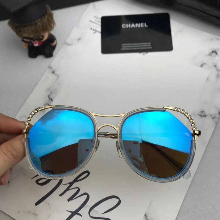 Chanel Newest Fashion Sunglasses Top Quality CC0186