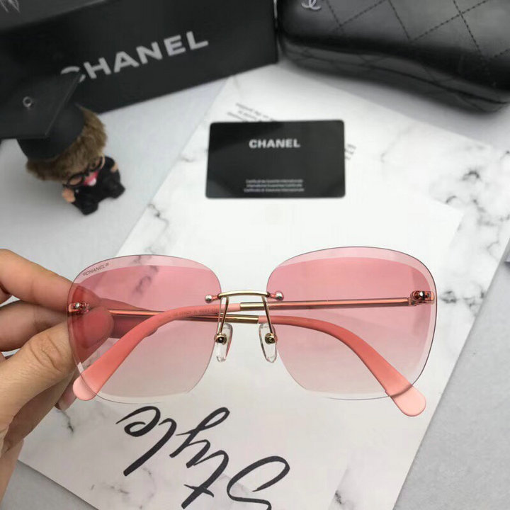 Chanel Newest Fashion Sunglasses Top Quality CC0187