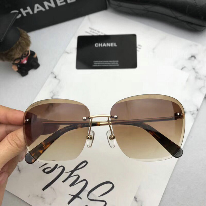 Chanel Newest Fashion Sunglasses Top Quality CC0189