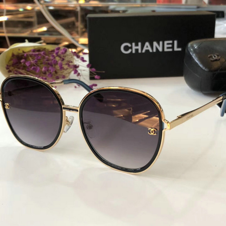 Chanel Newest Fashion Sunglasses Top Quality CC0191