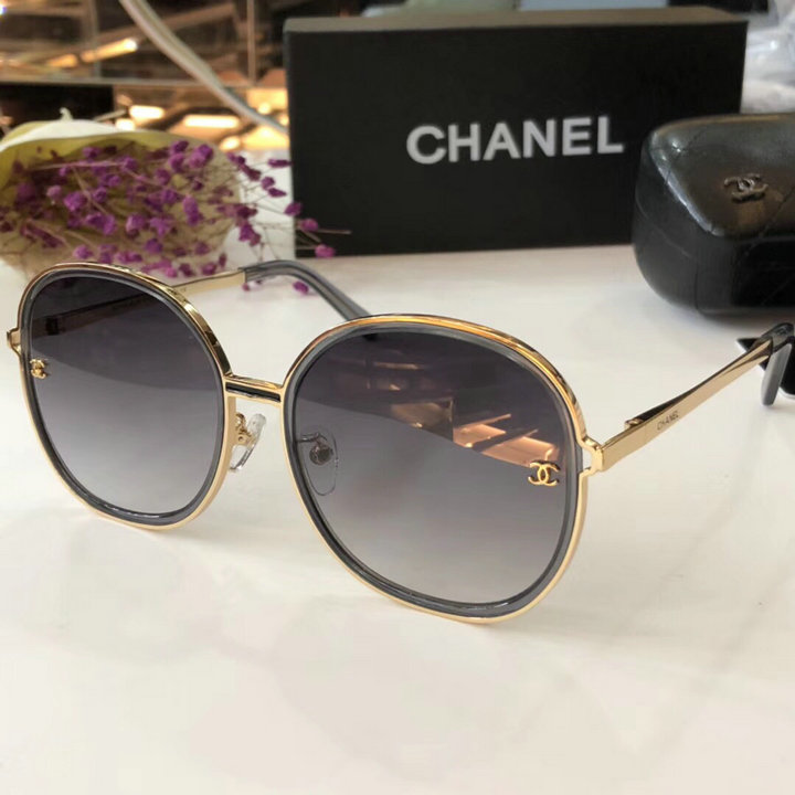 Chanel Newest Fashion Sunglasses Top Quality CC0192