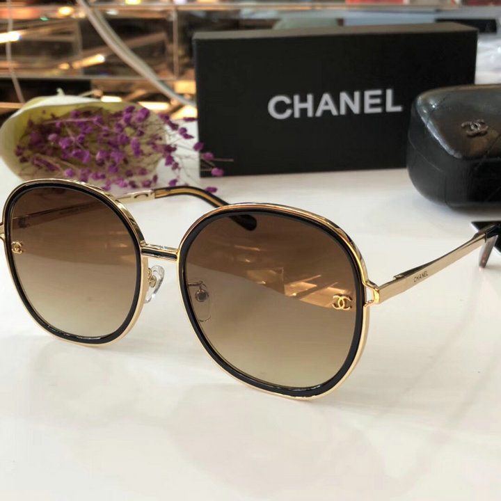 Chanel Newest Fashion Sunglasses Top Quality CC0193