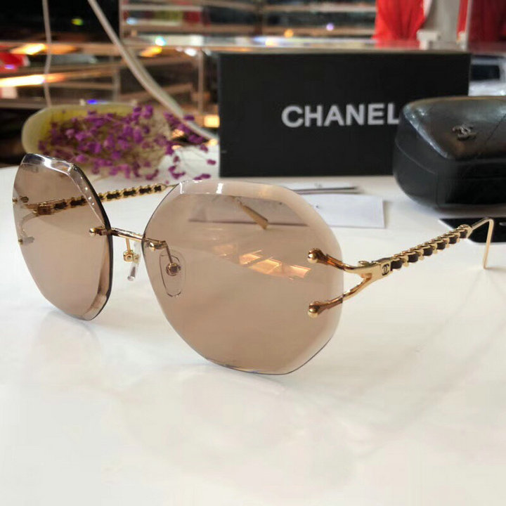 Chanel Newest Fashion Sunglasses Top Quality CC0195