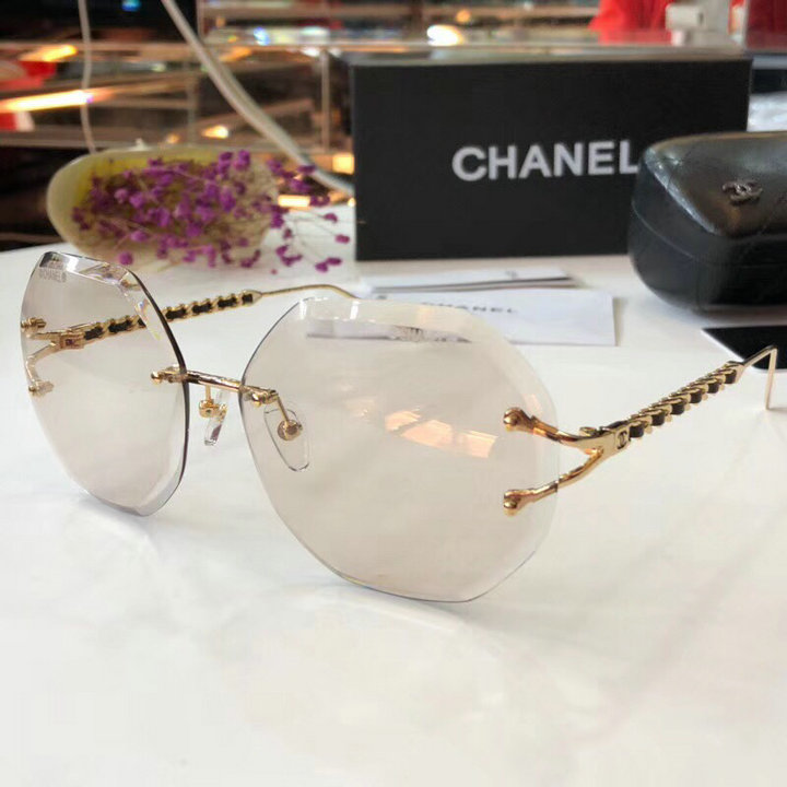 Chanel Newest Fashion Sunglasses Top Quality CC0196