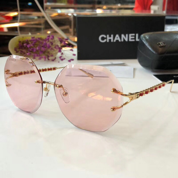 Chanel Newest Fashion Sunglasses Top Quality CC0197