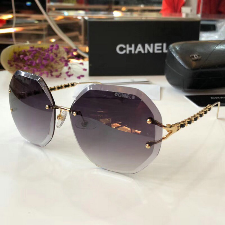Chanel Newest Fashion Sunglasses Top Quality CC0198