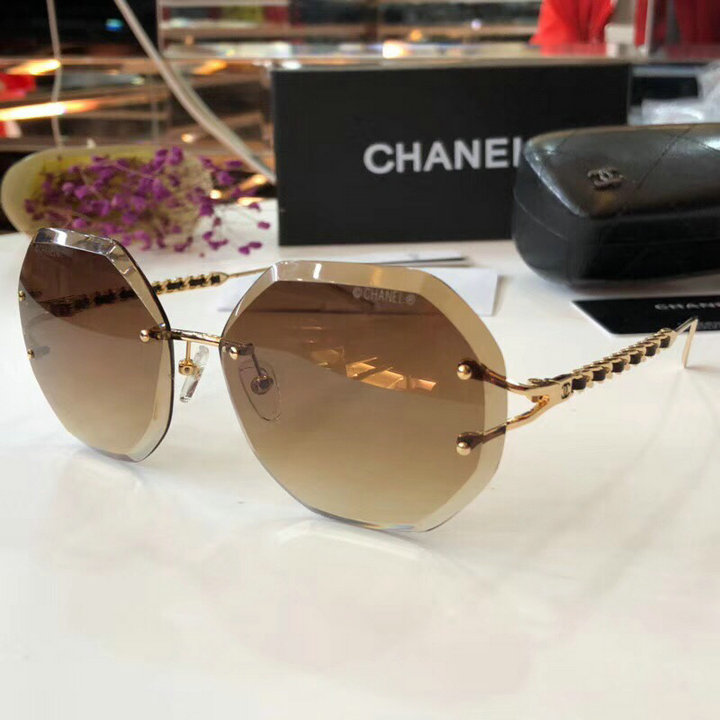 Chanel Newest Fashion Sunglasses Top Quality CC0200