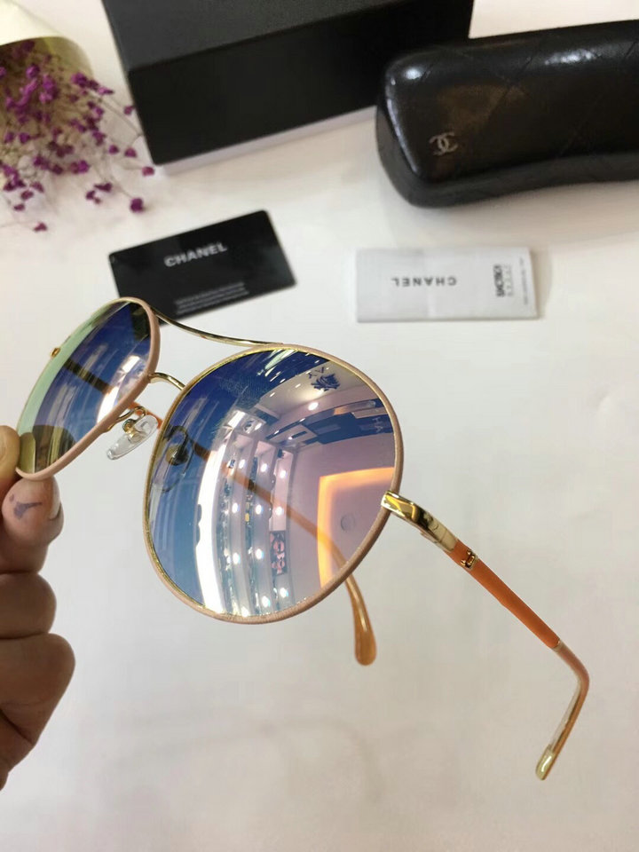 Chanel Newest Fashion Sunglasses Top Quality CC0203