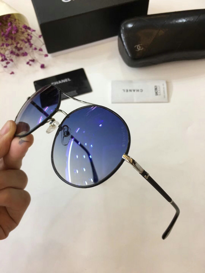 Chanel Newest Fashion Sunglasses Top Quality CC0204
