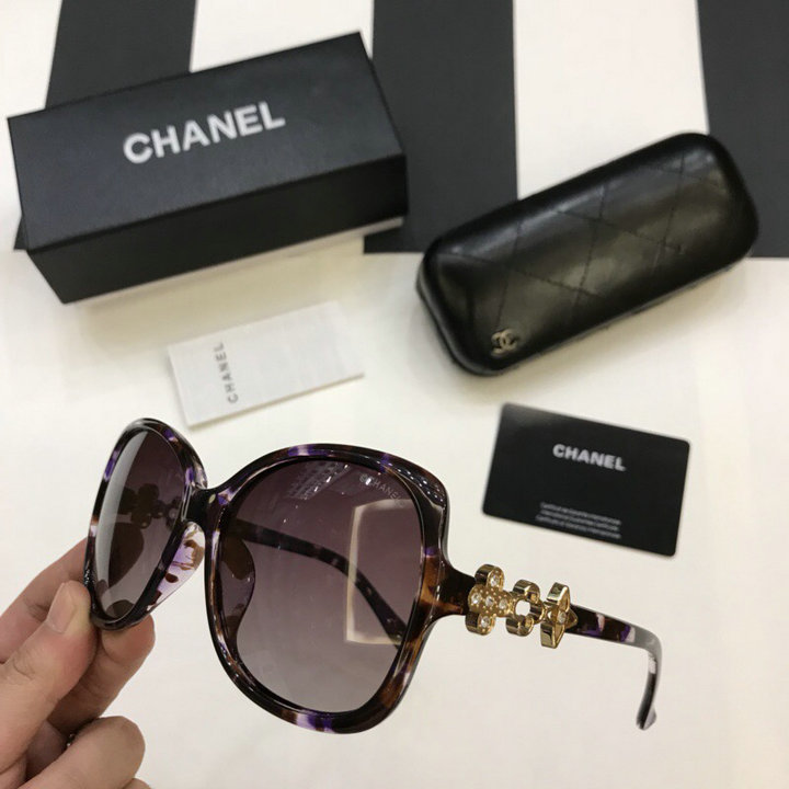 Chanel Newest Fashion Sunglasses Top Quality CC0208