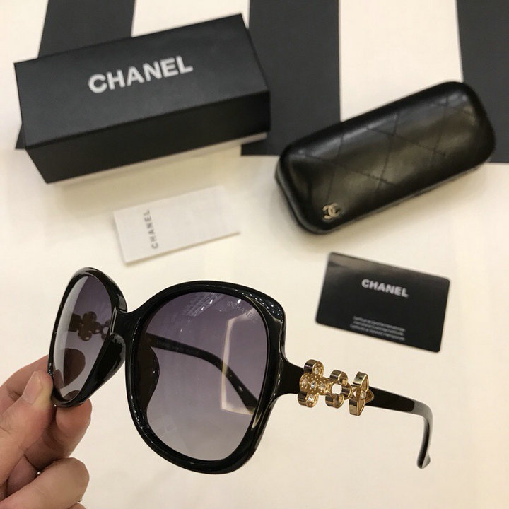 Chanel Newest Fashion Sunglasses Top Quality CC0209