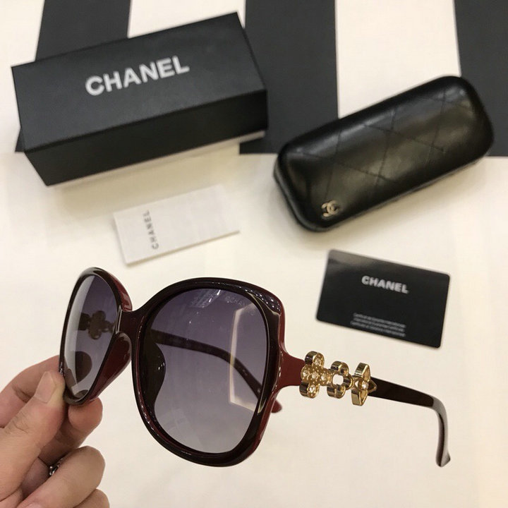 Chanel Newest Fashion Sunglasses Top Quality CC0210