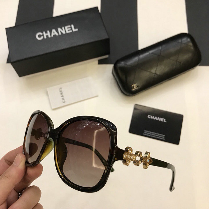 Chanel Newest Fashion Sunglasses Top Quality CC0212