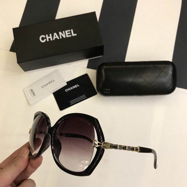 Chanel Newest Fashion Sunglasses Top Quality CC0215
